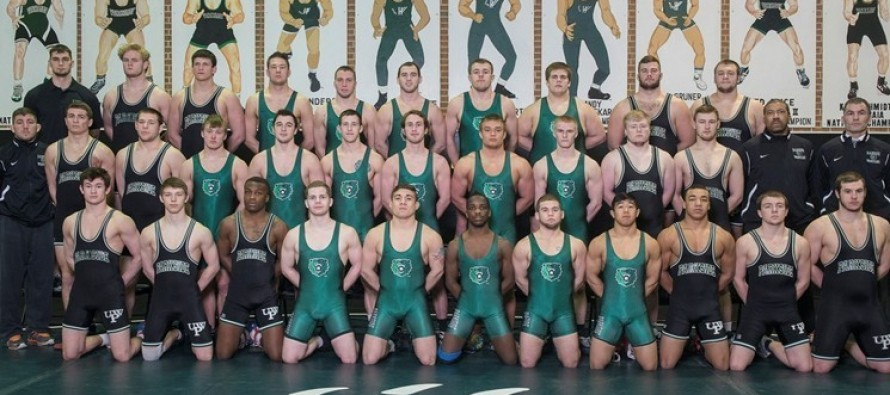 University of Wisconsin Parkside Rangers – Matmen Honored for Academic Excellence