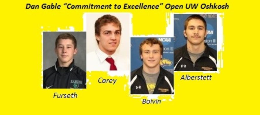 "Dan Gable ""Commitment to Excellence"" Open UW Oshkosh"