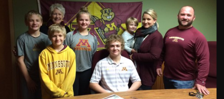 Marko: I'm officially a Minnesota Golden Gopher!
