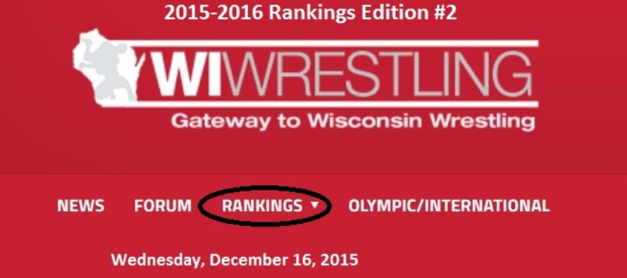 12-16-15 WIWrestling.com Rankings Edition 2