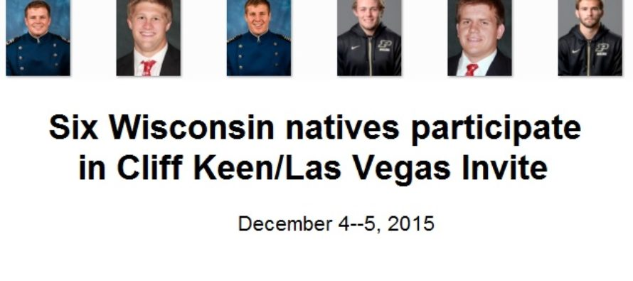 Six Wisconsin natives participate in Cliff Keen /Las Vegas Invite