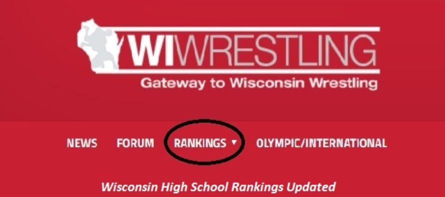 WIWrestling.com Rankings Edition 9 Posted 2-9-16