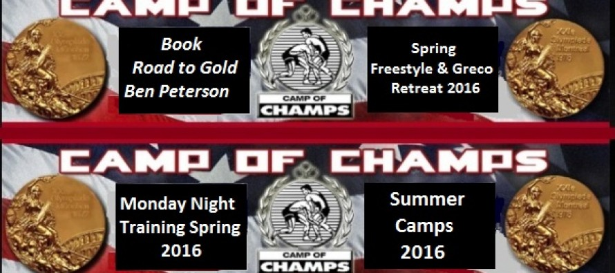 Camp of Champs Opportunities 2016 Book~Camps~Training~Retreat