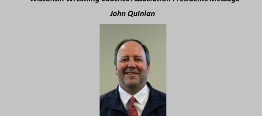 WWCA: From the President, John Quinlan, April 2016
