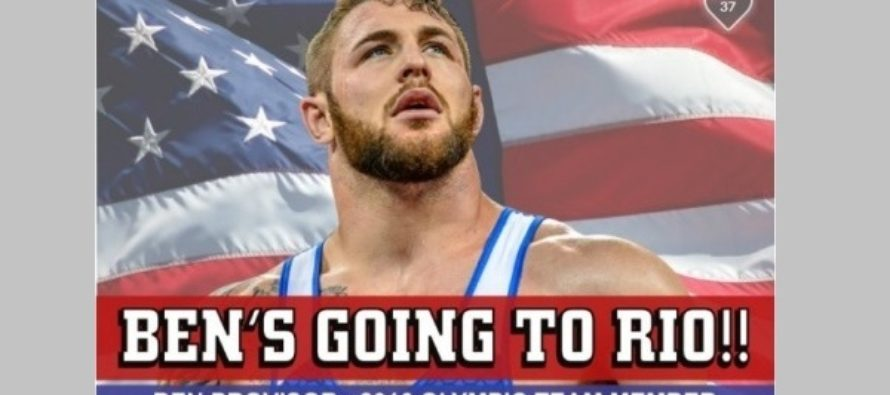 Ben's going to Rio
