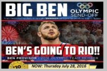 Ben Provisor on the Road to Rio… SEND OFF Celebration July 28
