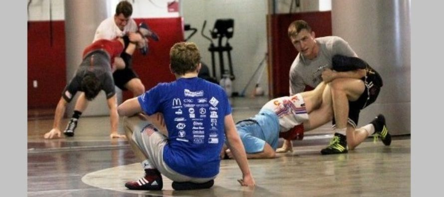 WI wrestlers prep for USAW Univ. Nats and Cadet World Team Trials