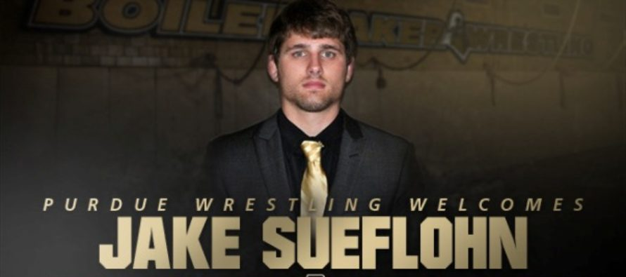 Jake Sueflohn Joins Purdue Wrestling Staff