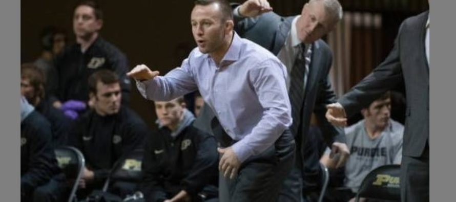 UW Grad: Zach Tanelli Named Columbia Head Wrestling Coach