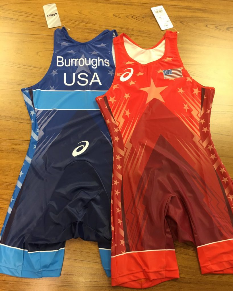 See the singlets that the U.S. wrestling team will wear in