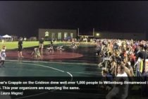Wittenberg, WI: Wrestlers ready to grapple on football field; July 30