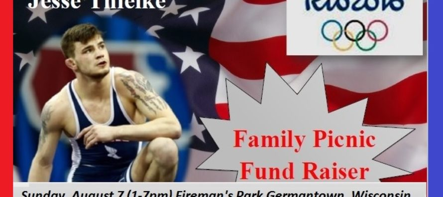 Jesse Thielke Family Fund Raiser – Rio 2016
