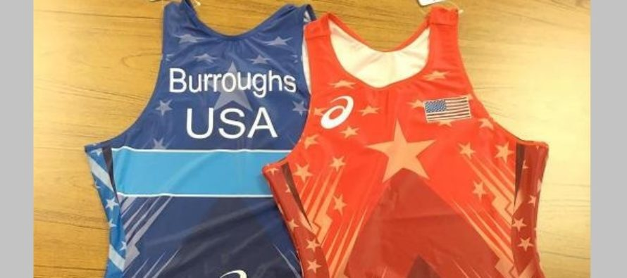 See the singlets that the U.S. wrestling team will wear in Rio