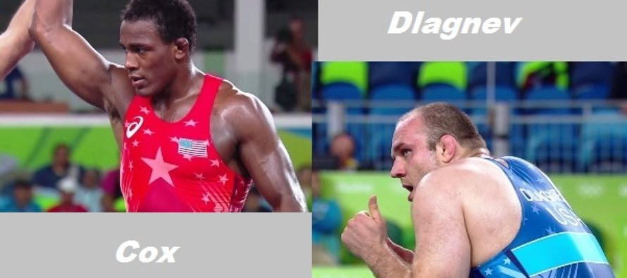 Cox, Dlagnev wins opening matches, drop in Semi's