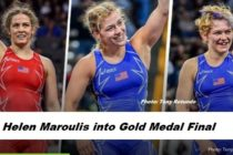 Day 13 Rio: US Women: Maroulis into Gold Medal Final at 53kg