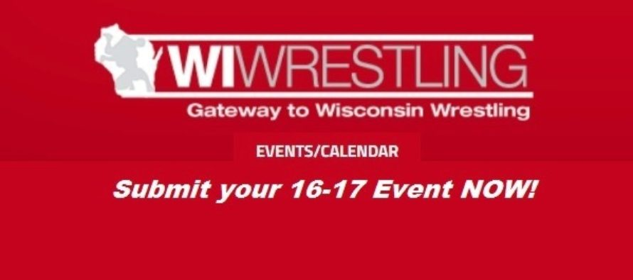 Post Your Wrestling Event in September! Save $10