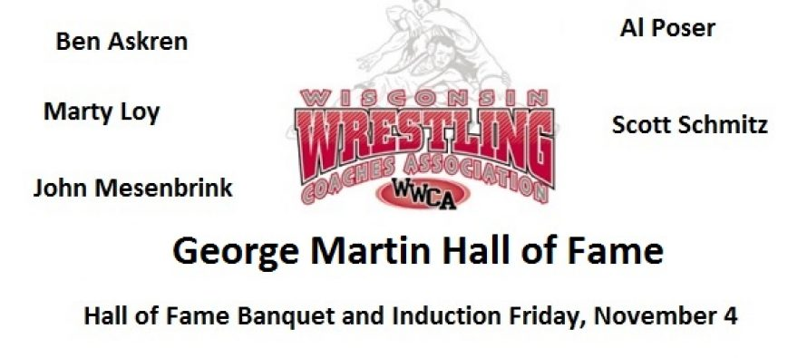 WWCA to Induct Five into George Martin Hall of Fame