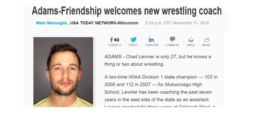 Adams-Friendship welcomes new wrestling coach