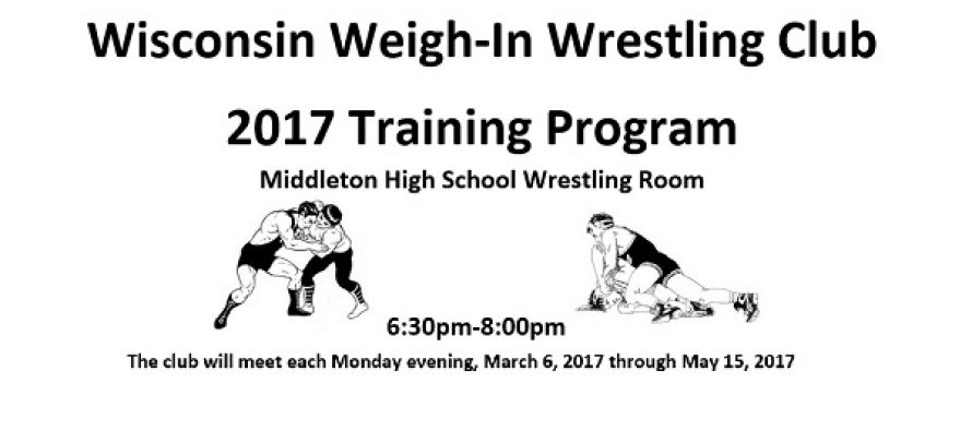 WI Weigh-In WC Training: March 6-May 15