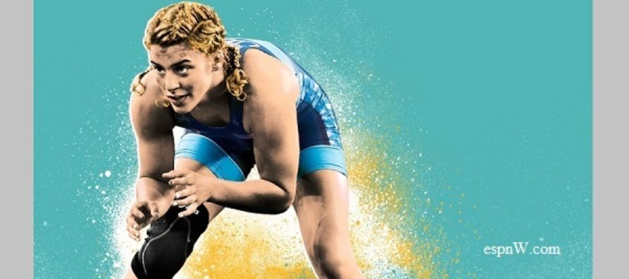 Helen Maroulis is now 'the hammer'