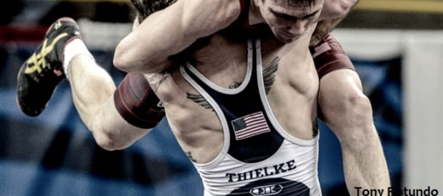 USA GRECO Five Point Move 2016 Athlete Of The Year: Jesse Thielke