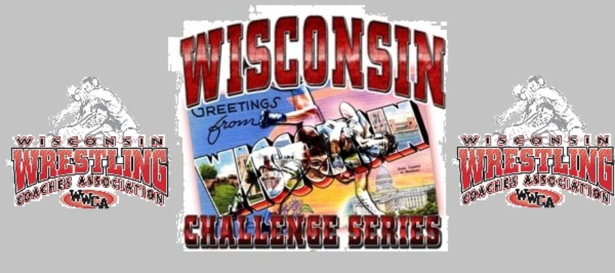 Wisconsin Wrestling Challenge Series Finals Brackets* Released