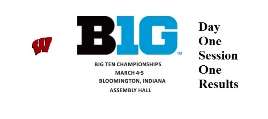 Big Ten Session One Day One | All ten Badgers still alive