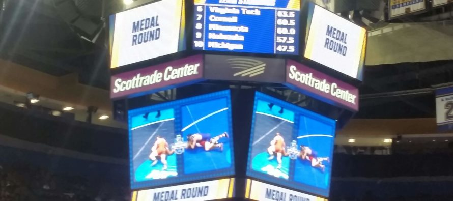 Session V NCAA | Isaac Jordan claims fourth in the medal round |