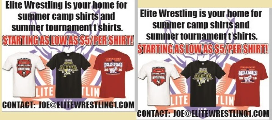 Elite Wrestling | For All Your Summer Shirt Needs