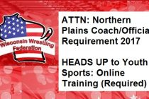 Northern Plains Coach/Official Concussion Training Requirement