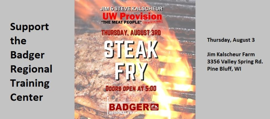 Kalscheur Steak Fry August 3rd!