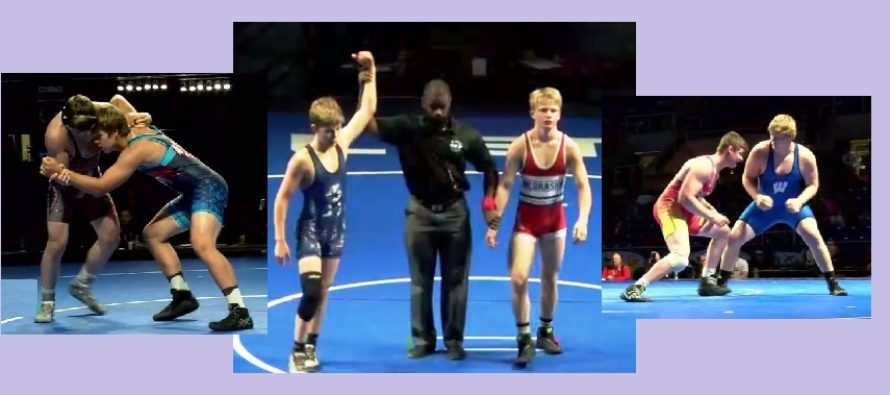 Lewis Cadet Greco Champ | WI Cadet GR Team 6th