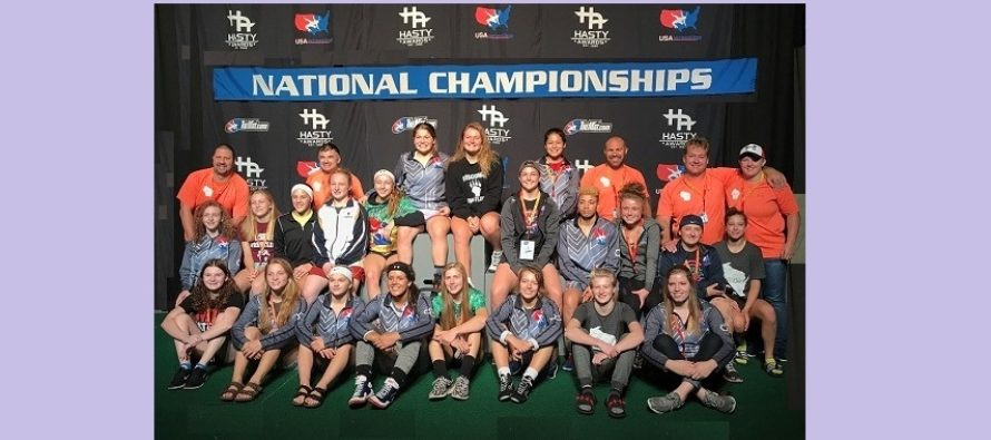 WI Women win THREE Junior National Titles | Team 2nd