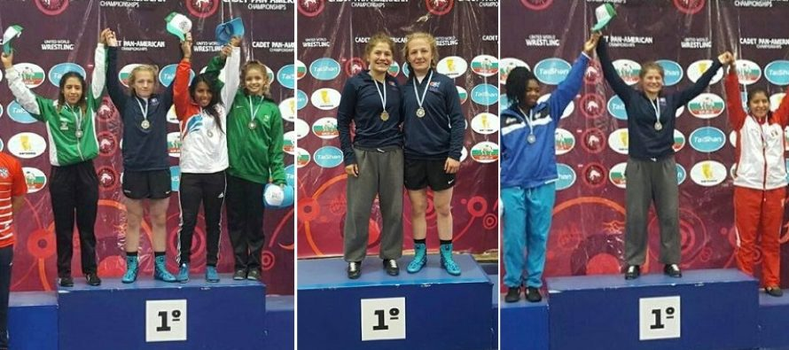 Macey Kilty and Hannah Ramos | Pan Am Gold medalists | Argentina