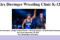 Port Washington | Alex Dieringer Folkstyle Clinic | September 10
