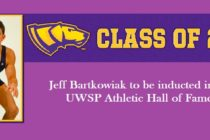 Jeff Bartkowiak in UWSP 2017 Athletic Hall of Fame Class