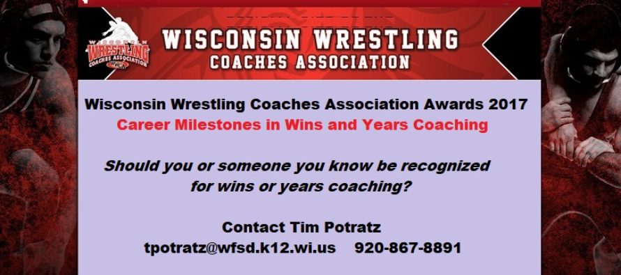 2017 Wisconsin Wrestling Coaches Association Awards
