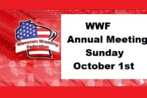 WWF Annual Meeting – Sunday October 1st