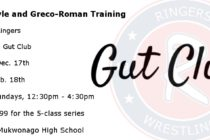 Ringers Gut Club: Winter Freestyle and Greco-Roman Training | Dec. 17-Feb. 18