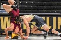 Purdue Splits Duals in Opener Ben Thornton double winner