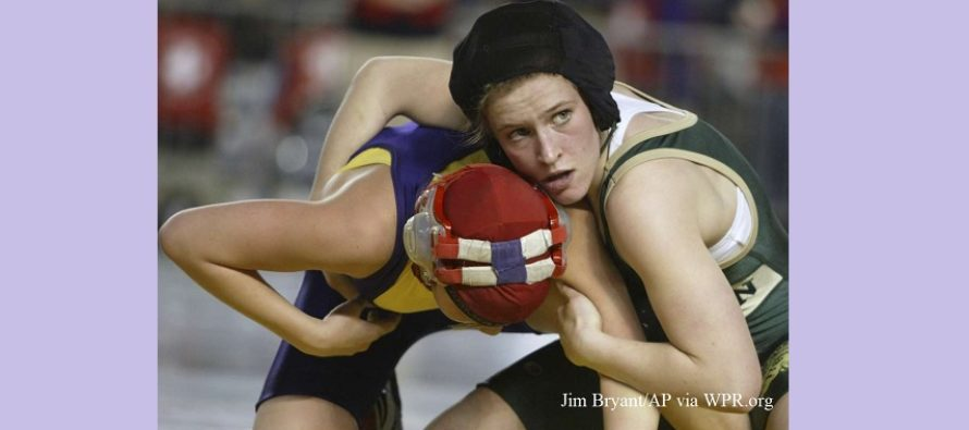 Girls Wrestling Division In Wisconsin Looking More Likely (WPR.org)