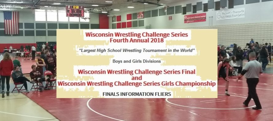 Wisconsin Wrestling Challenge Series FINALS INFORMATION