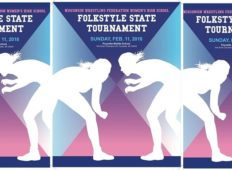 Girls HS Folkstyle State Tournament Sunday, Feb. 11