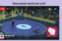 Waunakee Sectional Facebook LIVE Saturday, Feb. 17