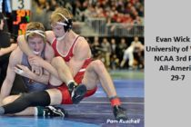NCAA 3rd Place 165lb Evan Wick University of Wisconsin
