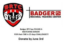 BREAKING NEWS!!! Badger RTC has FOUND A MATCHING DONOR