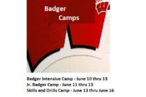 Badger Wrestling Camps