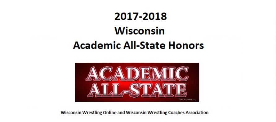 Honorable Mention / 17-18 Academic All-State | WWCA / WIWrestling.com