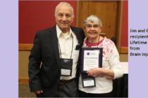 Jim and Corinne Richie receive Lifetime Service Award from Brain Injury Alliance of Wisconsin